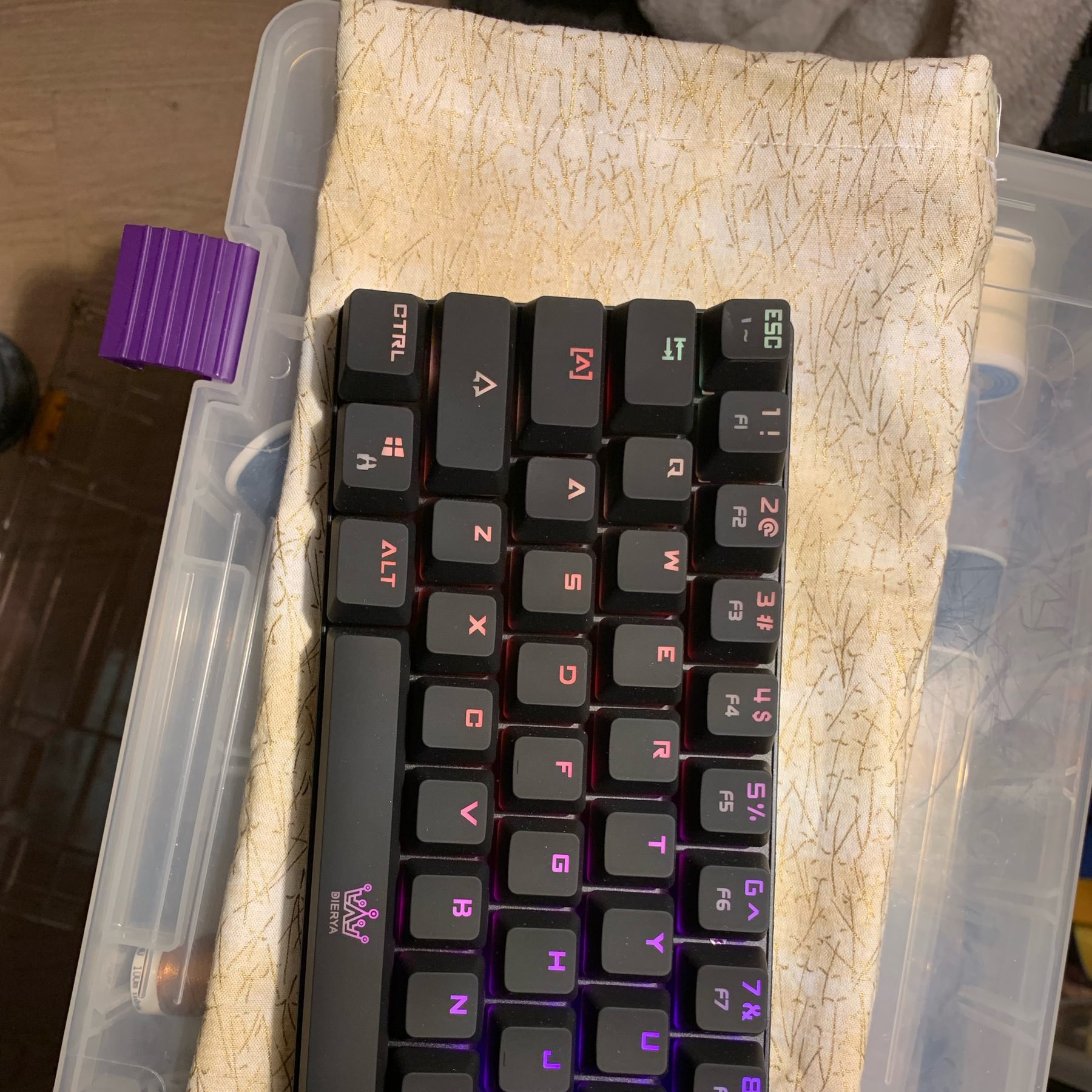 keyboard on cover
